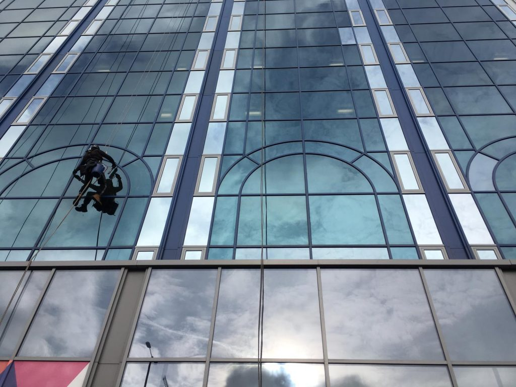 Window Cleaning at Height