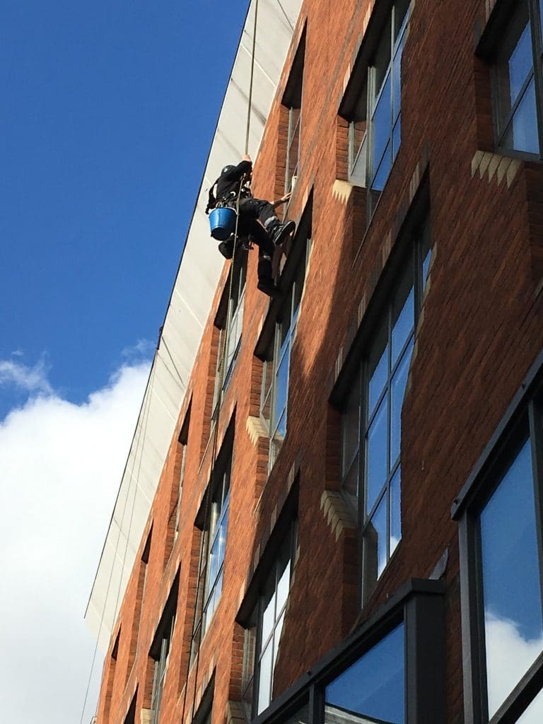 Abseil Window Cleaning London