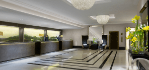 Hotel Lobby Cleaning and Reception Areas cleaned by SoClean