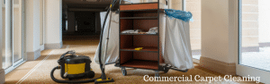 Commercial Cleaning of Carpets for Offices and Hotels