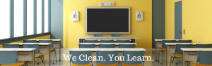 Cleaning for the educational sector